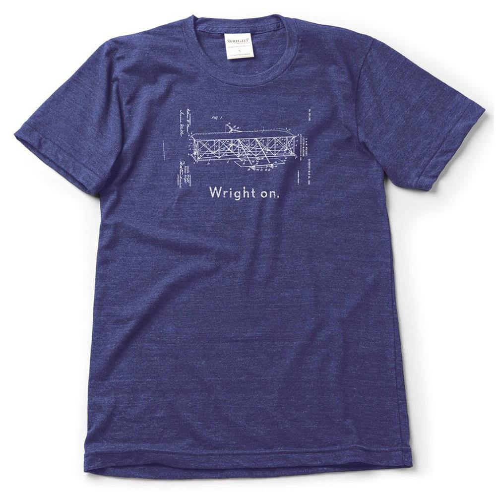 The Wright Brothers Wright On Tee - Kitty Hawk Kites Online Store