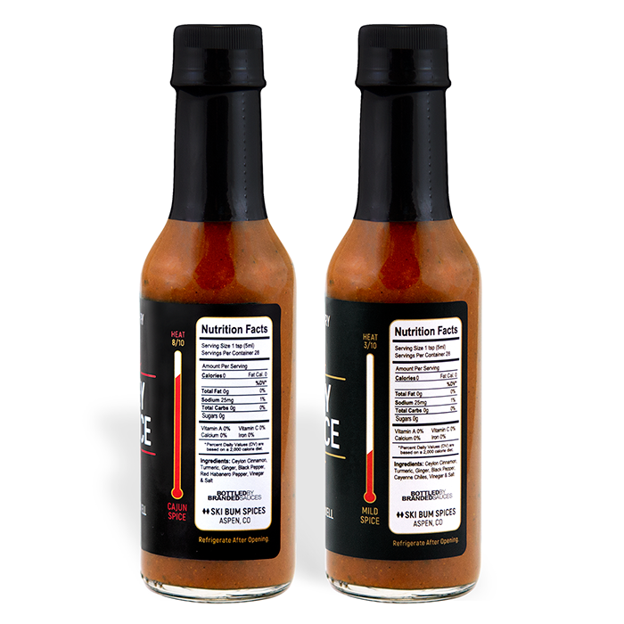 Anti-Inflammatory Hot Sauce Flavor Duo