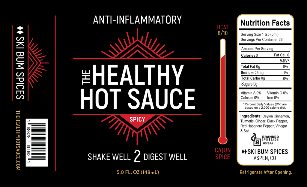 Anti-Inflammatory SPiCY Hot Sauce