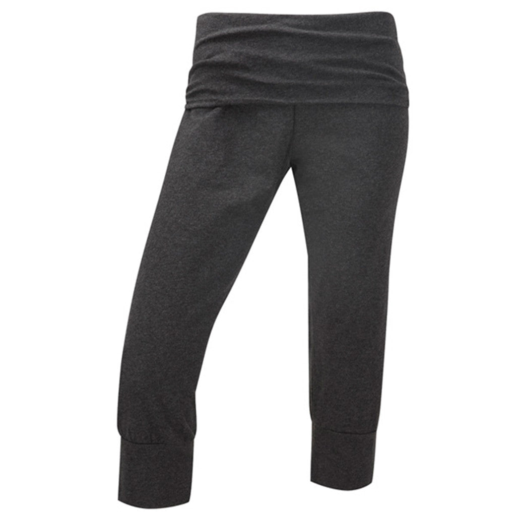 Curvy Capri Pant - Dark Grey Marl -  Plus Size Gym Clothes | Plus Size Sportswear | Charlotte Jackson Womenswear