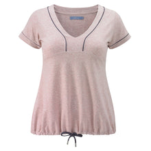 Curvy Tee - Pink -  Plus Size Gym Clothes | Plus Size Sportswear | Charlotte Jackson Womenswear