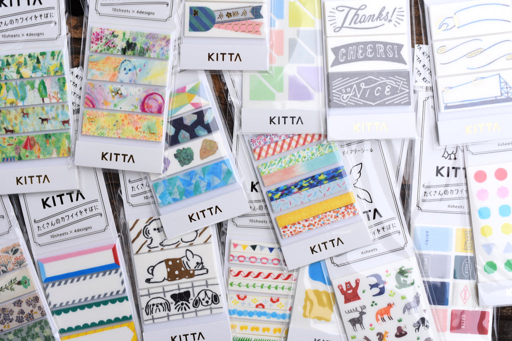 Lots of new Kitta tapes