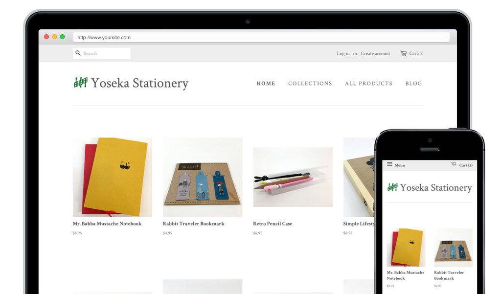 Yoseka Stationery store launched!