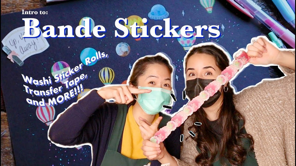 Intro to Bande Stickers