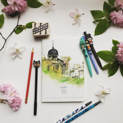 Some recently added pens, pencils and notebooks yoseka stationery stationeryaddict stationerylover love instadaily ny nyc pen uws lic newarrivals newarrival koala bear painting cute