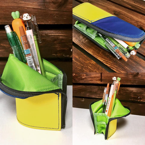 Yoseka Stationery New Arrivals: Kokuyo New Critz standing pencil case