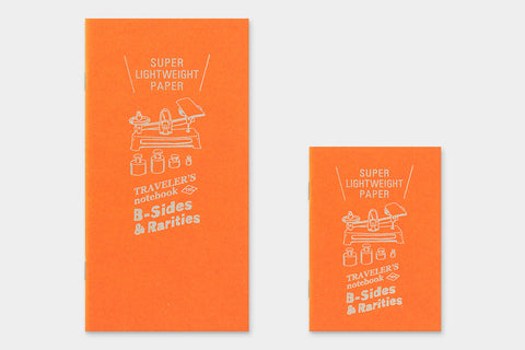 B-Sides & Rarities - Passport Size Refill - Super Lightweight Paper (Pre-Order Only: Ships end of April)