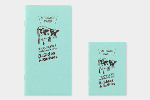 B-Sides & Rarities - Regular Size Refill - Message Card (Pre-Order Only: Ships end of April)