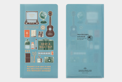 Regular Size Clear Folder 2020
