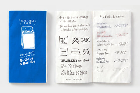 B-Sides & Rarities - Passport Size Refill - Washable Paper (Pre-Order Only: Ships end of April)