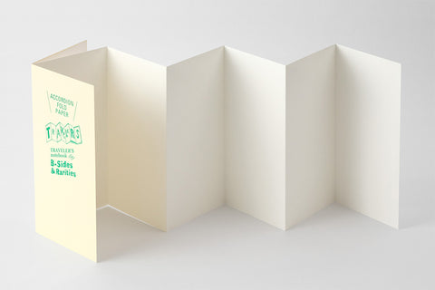 B-Sides & Rarities - Regular Size Refill - Accordion Fold Paper (Pre-Order Only: Ships end of April)