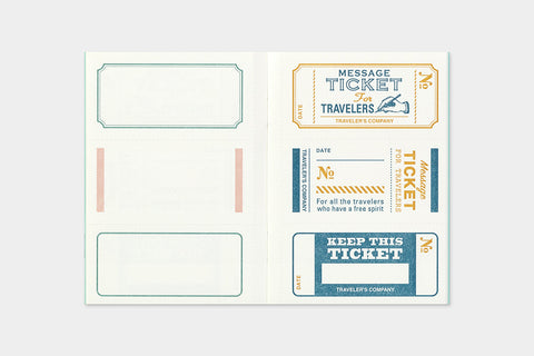 B-Sides & Rarities - Passport Size Refill - Message Card (Pre-Order Only: Ships end of April)