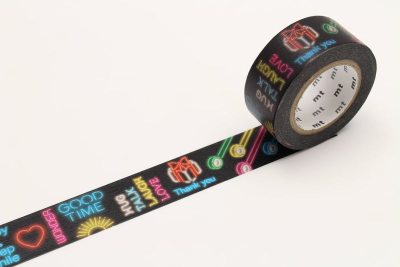 mt Washi Tape - Neon Sign