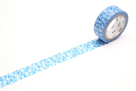 mt Washi Tape - Blue Flowers Nemophila