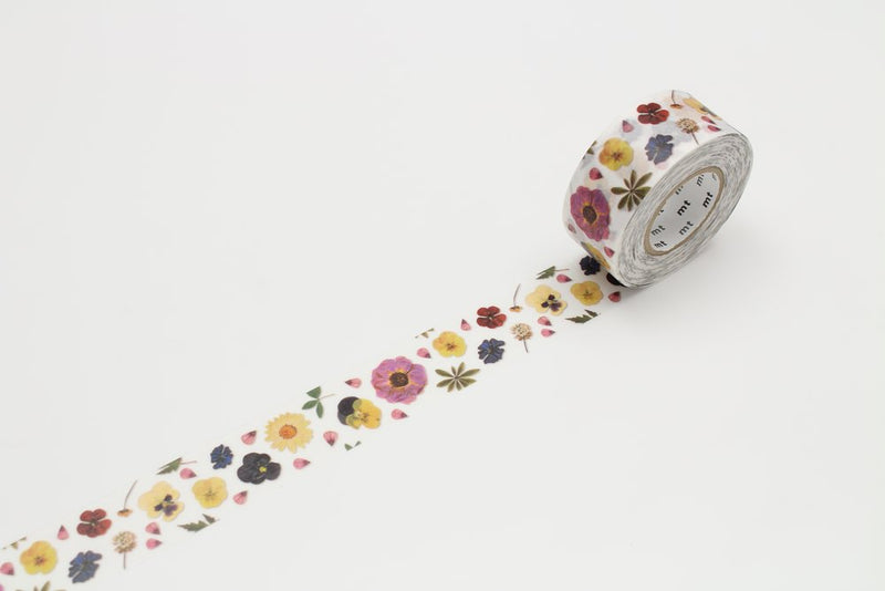 mt Washi Tape - for pack - Pressed Flower