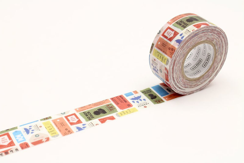 mt Washi Tape - for pack - Care Tag