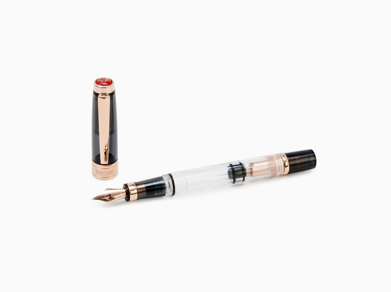 TWSBI Diamond 580 Smoke RoseGold Fountain Pen