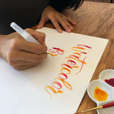 Watercolor Lettering Workshop With Sored - 2/22 Friday Night