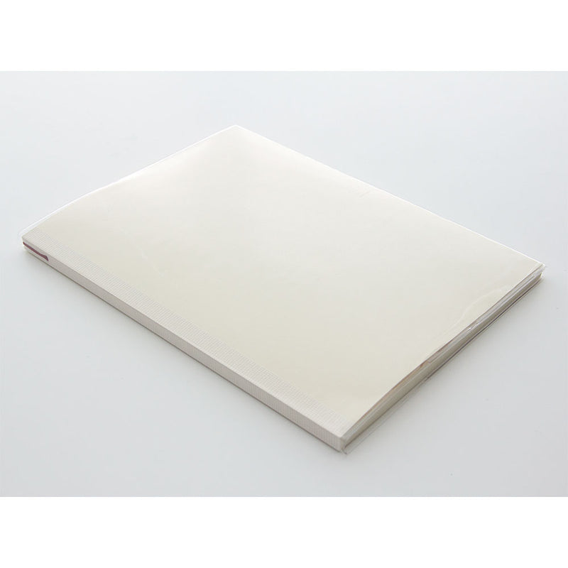 MD Notebook Cover - Clear - A4