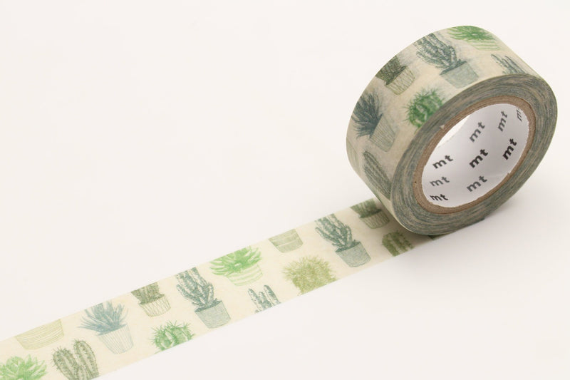 mt Washi Tape - Cactus