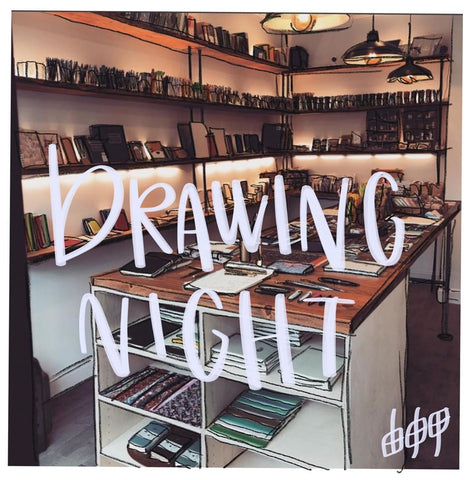 Drawing Night with Meagan - 8/30 Friday Night BYOB