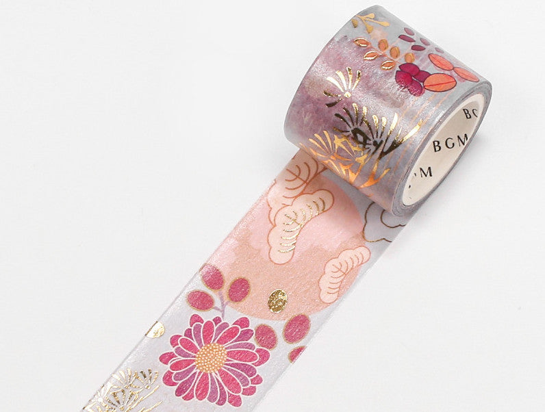 BGM Washi Tape - Flower Season