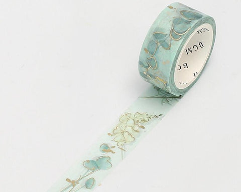 BGM Washi Tape - Garden Green