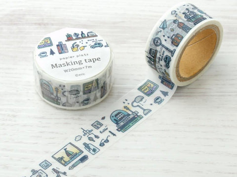 Papier Platz x eric - One Day Masking Tape