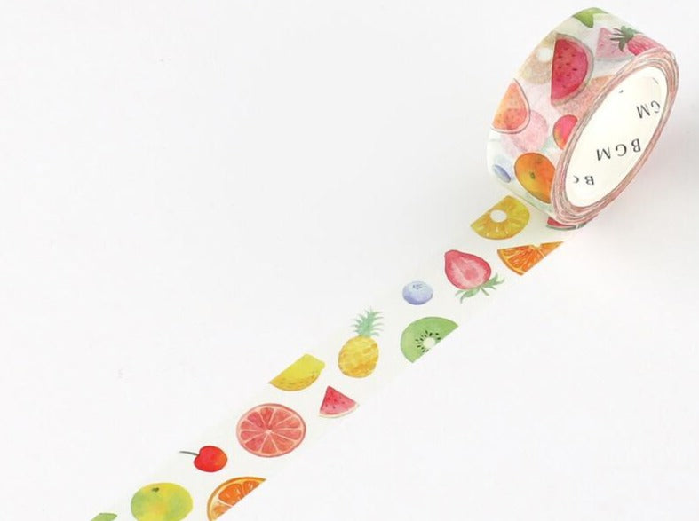 BGM Washi Tape - Fruit
