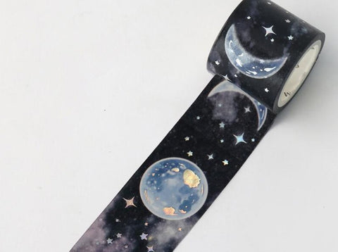 BGM Washi Tape - Moon Phase