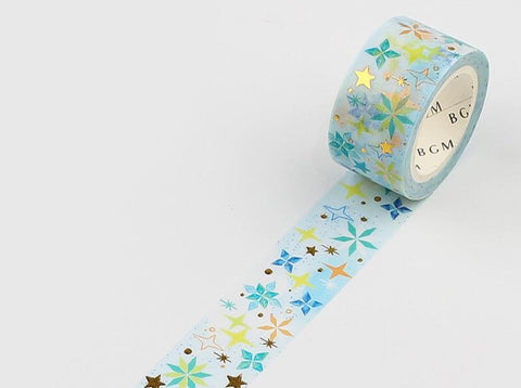BGM Washi Tape -  Ink Star