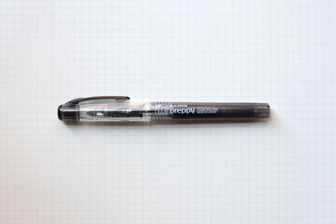 Platinum Preppy Fountain Pen - Black