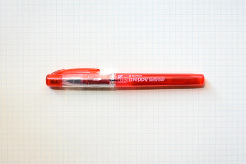 Platinum Preppy Fountain Pen - Red