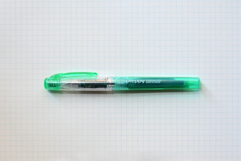 Platinum Preppy Fountain Pen - Green
