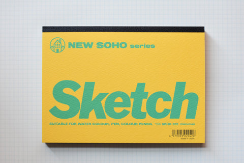 NEW SOHO Sketch Book - B6