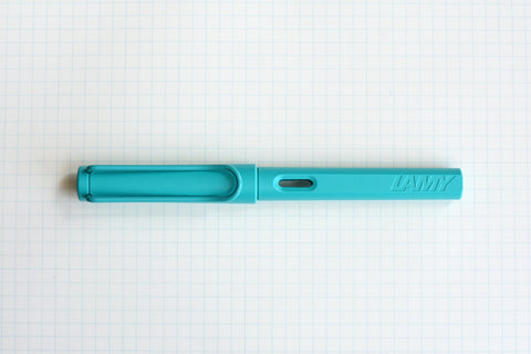 LAMY Safari Fountain Pen - Candy Collection - Aquamarine