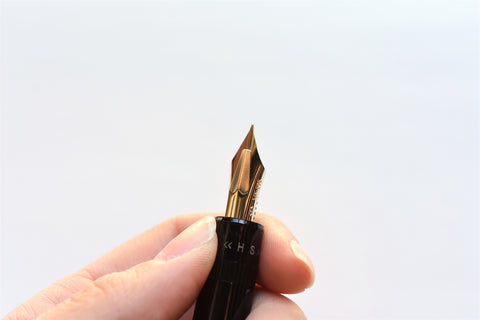Pilot Justus 95 Fountain Pen - Stripe - Black