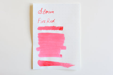 Sailor Storia Pigment Ink - 20mL - Fire Red