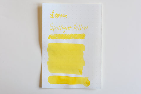 Sailor Storia Pigment Ink - 20mL - Spotlight Yellow