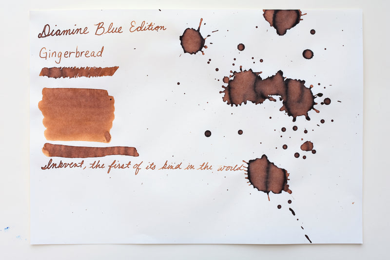 Diamine Blue Edition - Gingerbread