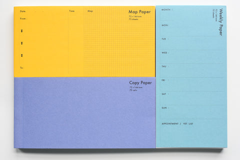 Classiky - Drop Around Function Paper Pad