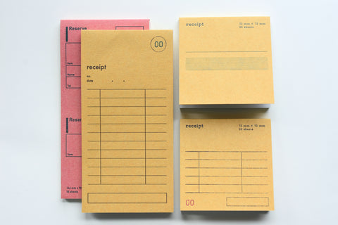 Classiky - Drop Around Receipt Pad
