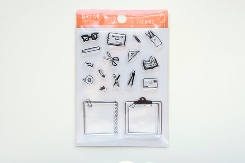 BGM Clear Stamp - Stationery
