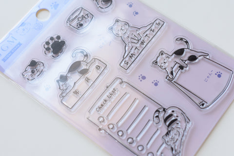 BGM Clear Stamp - Cat