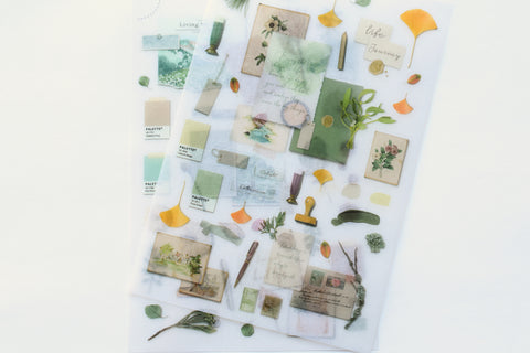 MU Print-On Stickers - Journal Page - #138