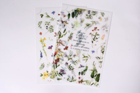 MU Print-On Stickers - Find the Beauty - #145
