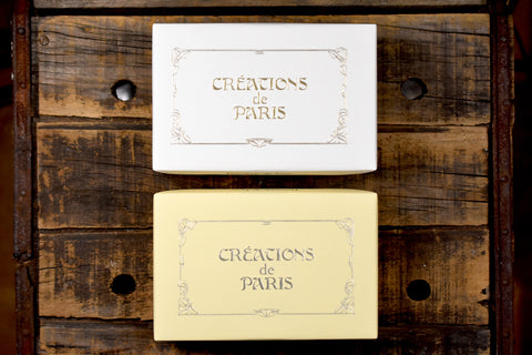 Créations de Paris Deckled 25 Note Card Boxed Set