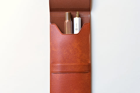 Fastener Flap Pen Case