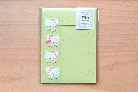 Mini Letter Set with Goat Stickers