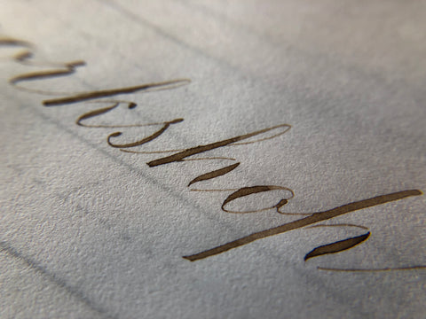 Pointed Pen Calligraphy Workshop With Becky - October 27th